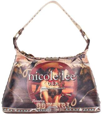 Nicole Lee Cowgirl Wheel Hobo Bag