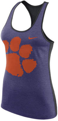 Nike Women's Clemson Tigers Dri-Fit Touch Tank