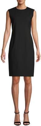 Theory Wool-Blend Sheath Dress