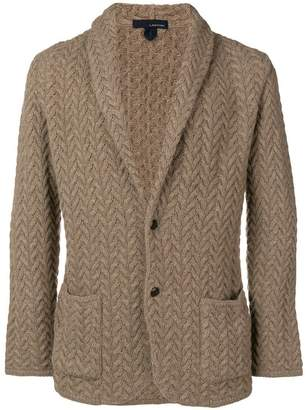 Lardini knitted blazer