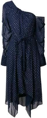 Jonathan Simkhai flared belted dress