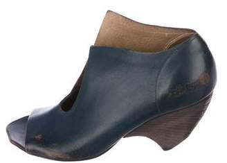 Marsèll Distressed Leather Booties