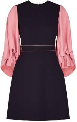 Roksanda Cecia Contrast Sleeve Mini Dress