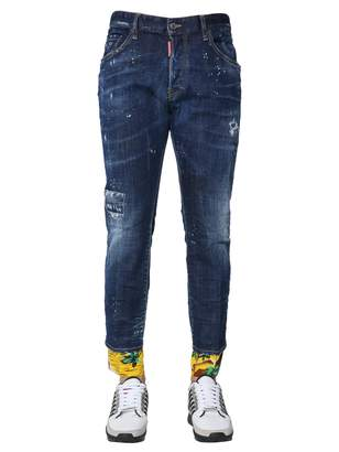 DSQUARED2 Skater Fit Jeans