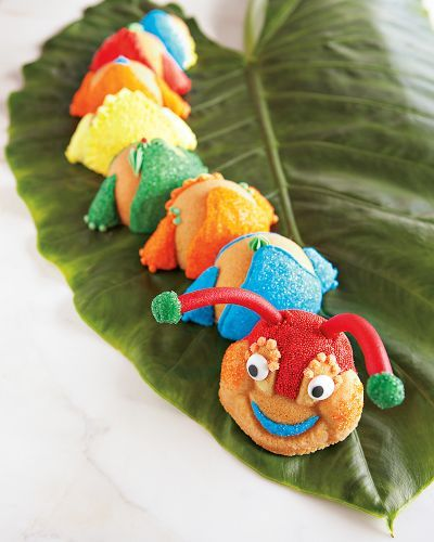 Caterpillar Cakelet Pan & Decorating Kit