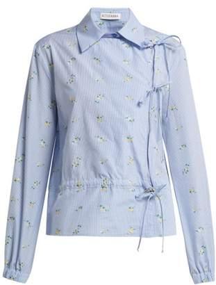 Altuzarra Terese Floral Shirt - Womens - Blue Multi