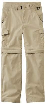 L.L. Bean L.L.Bean Boys' Trekking Zip-Off Pants