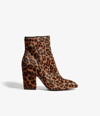 Karen Millen Leopard Print Boots