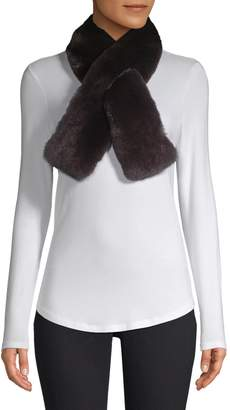 Adrienne Landau Dyed Rabbit Fur Scarf