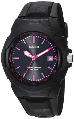 Casio Women's 'Sporty' Quartz Stainless Steel and Resin Watch