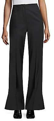 Rebecca Taylor Women's Tuxedo Wool-Blend Flare Pants