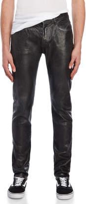 Faith Connexion Black Coated Jeans