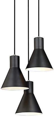 One Kings Lane Towner 3-Light Pendant - Brushed Nickel
