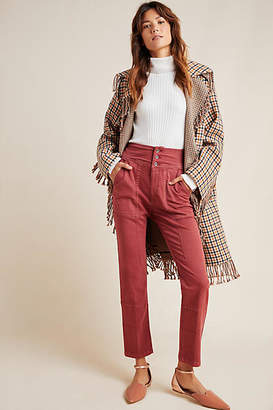 Anthropologie Flynn Tapered Knit Trousers