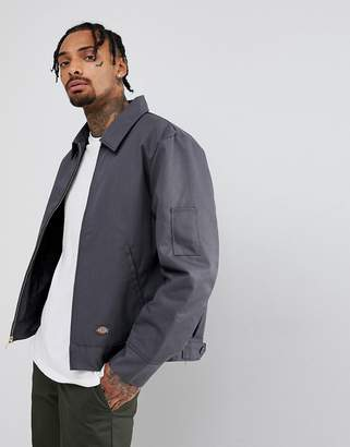 Dickies Insulated Eisenhower Jacket In Gray