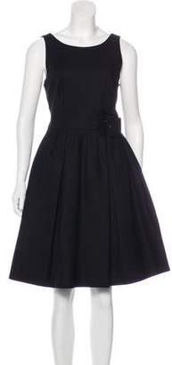 Paule Ka Knee-Length A-Line Dress