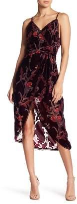 J.o.a. Velvet Burn Out Dress