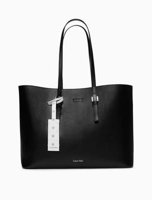 Calvin Klein large shopper tote bag + zip pouch