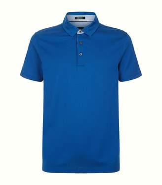 BOSS Stripe Placket Polo Shirt