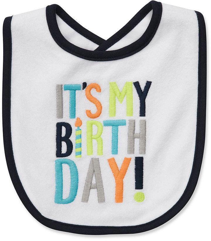 Carter's Baby Bib, Baby Boys It's My Birthday Bib