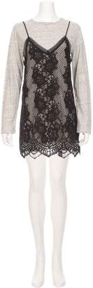 KENDALL + KYLIE KENDALL KYLIE Combo Lace Cami Dress