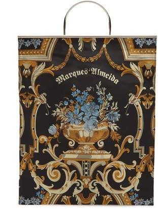 MARQUES'ALMEIDA Embroidered tote bag