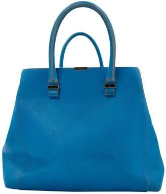 Victoria Beckham Blue Leather Handbag