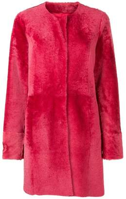Drome loose fastened coat