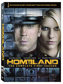 Showtime Entertainment Homeland: Season 1 Four-Disc DVD Set