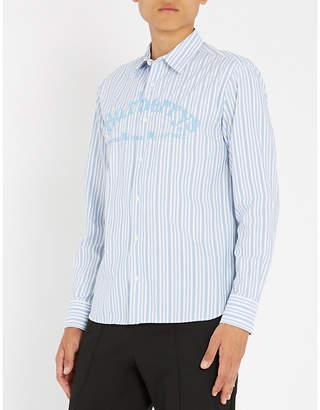 Burberry Striped regular-fit cotton shirt