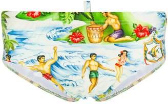 DSQUARED2 Beach life swimming briefs