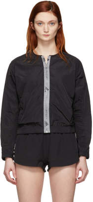 adidas by Stella McCartney Black Athletics Bomber Jacket