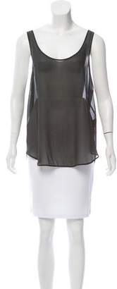 BLK DNM Silk Sleeveless Top
