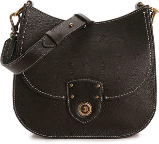 Lauren Ralph Lauren Millbrook Convertible Leather Shoulder Bag - Women's