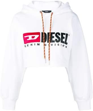 Diesel logo hooded sweatshirt