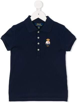 Ralph Lauren embroidered bear polo shirt
