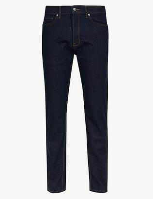 Marks and Spencer Big & Tall Tapered Fit Stretch Jeans