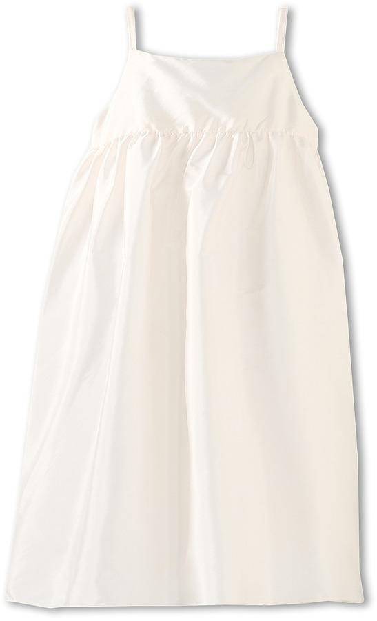 Us Angels Silky Taffeta Empire Dress (Big Kids)