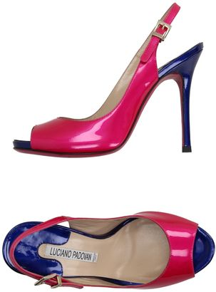 LUCIANO PADOVAN Sandals $345 thestylecure.com
