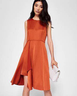 Ted Baker WINNI Front fold pleated dress