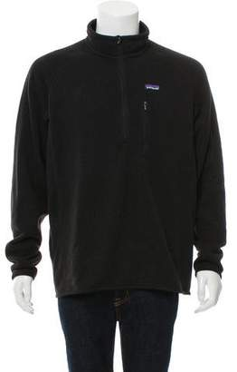 Patagonia Woven Zip-Up Sweater