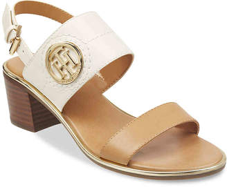 4b35858743d Tommy Hilfiger Leather Lined Women s Sandals - ShopStyle