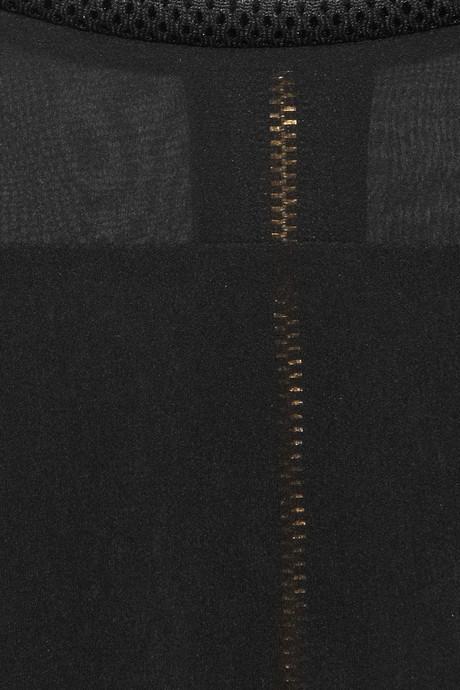 Faith Connexion Silk-chiffon blouse