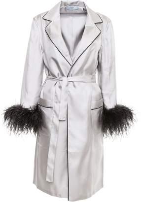 Prada Silk Twill Robe Dress