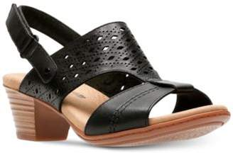 Clarks Collection Women's Valarie Mindi Dress Sandals, Created for Macy's