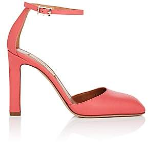 Valentino WOMEN'S LEATHER ANKLE-STRAP SANDALS
