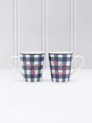 Draper James Gingham Mug Set