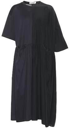 Jil Sander Cotton and silk dress