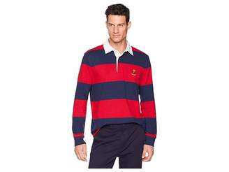 Chaps Cotton Rugby Polo Men's Clothing
