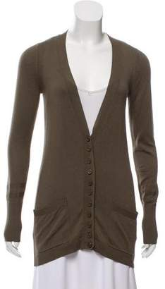 Marc by Marc Jacobs Silk-Blend Button-Up Cardigan